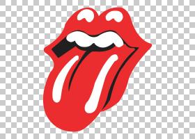 滚石乐队标志音乐合奏,舌头PNG剪贴画杂项,标志,其他,虚构人物,音