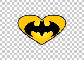蝙蝠侠标志绘图,情人节晚餐PNG剪贴画英雄,超级英雄,心,徽标,剪影