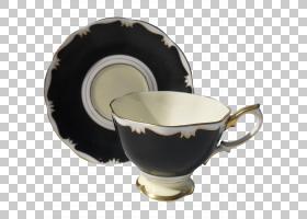 餐具茶碟咖啡杯,碟子PNG剪贴画茶碟,咖啡杯,桌布,餐具,食品饮料,