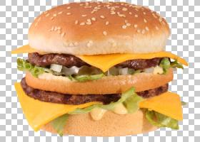 鸡肉三明治俱乐部三明治培根汉堡脆皮炸鸡,汉堡和三明治PNG剪贴画