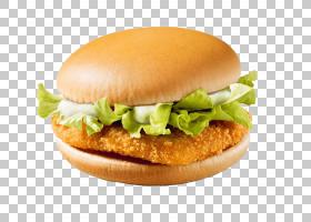 鸡肉三明治汉堡麦当劳的巨无霸麦克奇汉堡芝士汉堡,麦当劳PNG剪贴