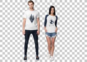 T恤样机连帽衫Dribbble,背景多变的PNG剪贴画T恤,白色,时尚,创意