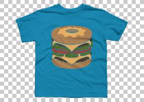 T恤袖iPhone 6外套,T恤设计PNG剪贴画T恤,蓝色,橙色,男孩,活跃衬
