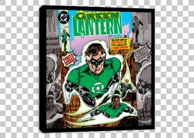 Hal Jordan Green Lantern Corps John Stewart漫画,绿灯笼PNG剪