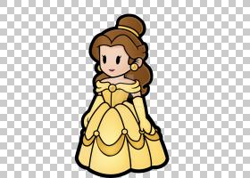 Belle Paper Ariel迪士尼公主华特迪士尼公司,美女和野兽PNG剪贴