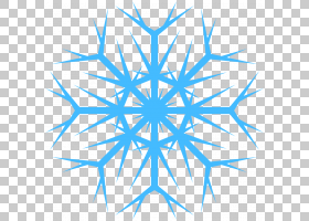 Snowflake Elsa,雪花PNG剪贴画蓝色,叶子,三角形,对称性,雪花,封