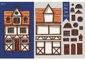 个性德式房屋屋顶窗户设计图解