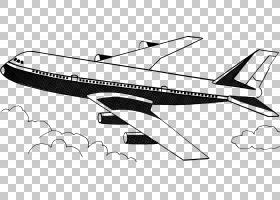 飞机飞机PNG剪贴画角,单色,运输方式,车辆,运输,桌面壁纸,模型飞