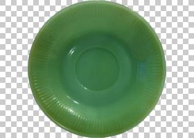 餐具碟子PNG剪贴画板,碟,餐具,餐具,绿色,餐具,2192507