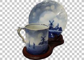 餐具茶碟咖啡杯瓷杯茶碟PNG剪贴画碟,蓝色和白色瓷器,平板电脑,餐