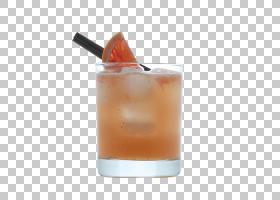 海湾微风海风威士忌酸鸡尾酒装饰鸡尾酒PNG剪贴画食谱,橙色,鸡尾