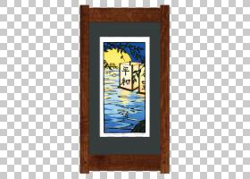 画框垫版画灯笼漂浮纸PNG剪贴画杂项,灯笼,矩形,海报,其他,木,画
