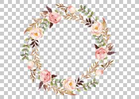 鲜花婚礼请柬水彩,花卉,插花,切花,发饰,花卉设计,花瓣,装饰,绘画