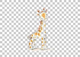 长颈鹿卡通,鹿,野生动物,长颈鹿,苗圃,绘画,卡通,版画制作,可爱,