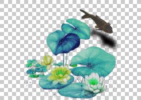 中秋节海报,飞蛾与蝴蝶,绿松石,传粉者,叶,花,植物,广告,卡通,主