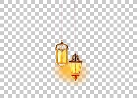 伊斯兰之灯,黄色,清真寺,水彩画,宗教,灯笼,灯,穆斯林,伊斯兰教的