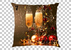 元旦元旦前夕新年派对新年快乐PNG剪贴画玻璃,酒玻璃,希望,假日,