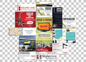网页平面设计展示广告,设计PNG剪贴画显示广告,媒体,激动人心,成