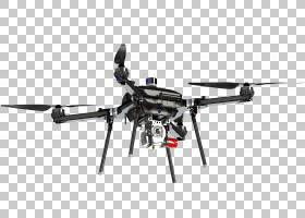 无人飞机哈里斯空中混合动力车四旋翼直升机旋翼无人机PNG clipar
