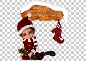 圣诞节装饰品Ded Moroz精灵圣诞老人,娃娃PNG剪贴画杂项,假日,小