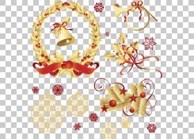 圣诞节装饰品圣诞节装饰元素PNG剪贴画假期,摄影,装潢,分支机构,