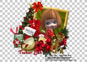 圣诞节装饰圣诞节装饰品礼物假期圣诞老人雪橇PNG Clipart假期,圣