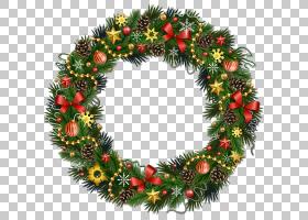 圣诞花环金色花环PNG剪贴画假期,装潢,圣诞节装饰,桌面壁纸,花圈,