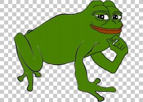 佩佩青蛙图画书两栖类真正的青蛙,心情PNG剪贴画动物,脊椎动物,草