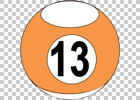 台球台球台球PNG clipart文本,橙色,数量,登录,体育,标牌,池,机架