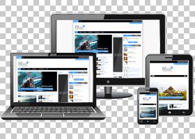 响应式Web设计Web开发Web页,脚PNG剪贴画电子产品,小工具,搜索引