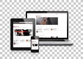 響應式網頁設計網站開發,網站PNG剪貼畫電子產品,小工具,搜索引擎