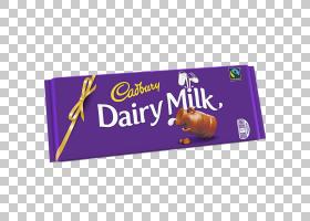 巧克力棒吉百利牛奶牛奶吉百利牛奶牛奶PNG剪贴画紫色,奶油,食品,
