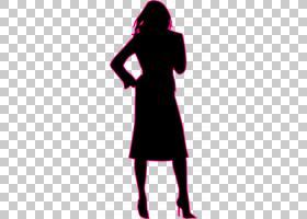商人剪影女人sillhouette PNG剪贴画动物,虚构人物,剪影,洋红色,