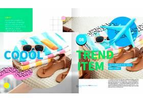 时尚购物杂志排版