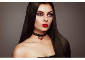 女人,模特,,妇女,女孩,脸,口红,黑发女人,化妆品,壁纸,