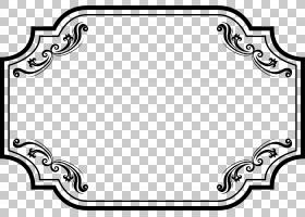 黑白相框,黑白,线路,白色,矩形,黑色,圆,点,文本,面积,对称性,游