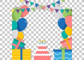 生日快乐蛋糕,线路,圆,面积,玩具,播放,党,礼物,问候,愿望,气球,