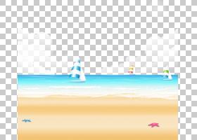海滩背景,冷静,线路,水,波浪,白天,海洋,天空,文本,面积,资源,海