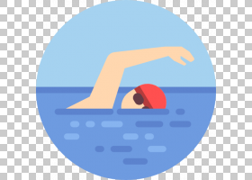 夏蓝背景,线路,徽标,圆,符号,文本,面积,蓝色,游泳大师,游泳课,美