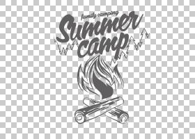 帐篷卡通,黑白,字体,线路,模式,黑色,体育器材,文本,设计,徽标,标