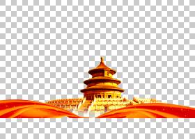 夏日节日,橙色,文本,中国,北京,世界遗产遗址,中秋节,架构,邮轮,