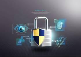 互联网信息技术安全主题海报设计