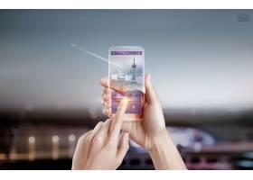 互联网信息技术手机智能产品主题海报设计