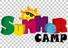 夏令营标志,幸福,卡通,徽标,文本,周,夏天,教育,课外活动,养育,儿