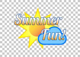 夏令营标志,线路,徽标,黄色,文本,面积,数字媒体,孩子,夏令营,夏