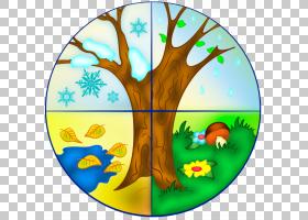 夏季,分支,树,叶,时间,夏天,游戏,春天,幼儿园,天气,四季,季节,四
