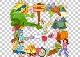 夏季海报背景,线路,播放,树,面积,娱乐,玩具,休假,暑假,动画,海报