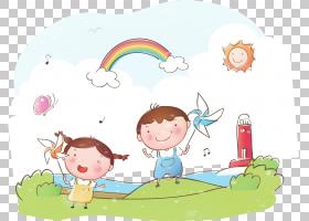 夏季海报背景,幸福,蹒跚学步的孩子,线路,水,播放,天空,面积,中国