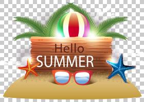夏季海报背景,文本,休假,夏天,徽标,海报,海滩,党,夏季剪贴画,你