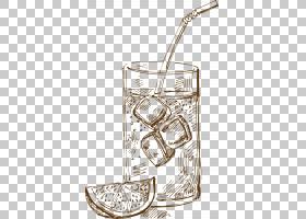 冰背景,黑白,线路,材质,杯子,动画,卡通,冰,冰块,绘图,冰咖啡,喝